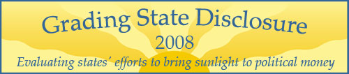 Grading State Disclosure 2008 Logo Graphic